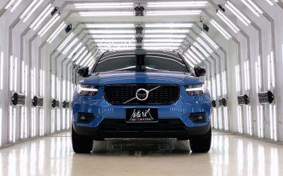 Volvo 富豪 XC60 藍色